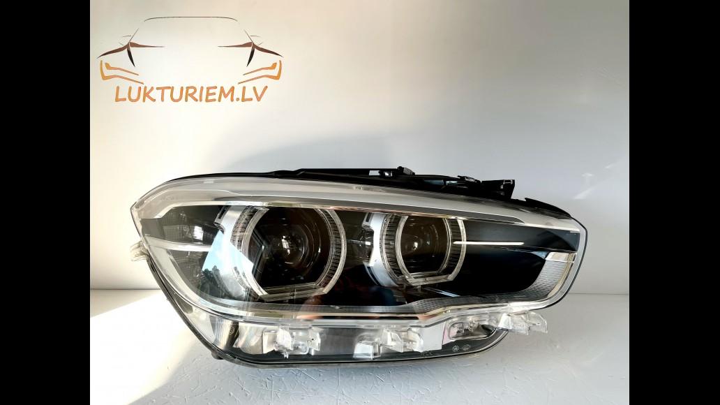 BMW 1 F20 F21 2011+ 7453524-02, 63117414145 Adaptive LED right headlight