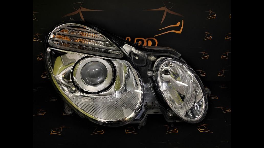 Mercedes Benz MB E-class W211 facelift Dynamic (2006–2009) 2118205261 A2118205261 priekšējais labais lukturis