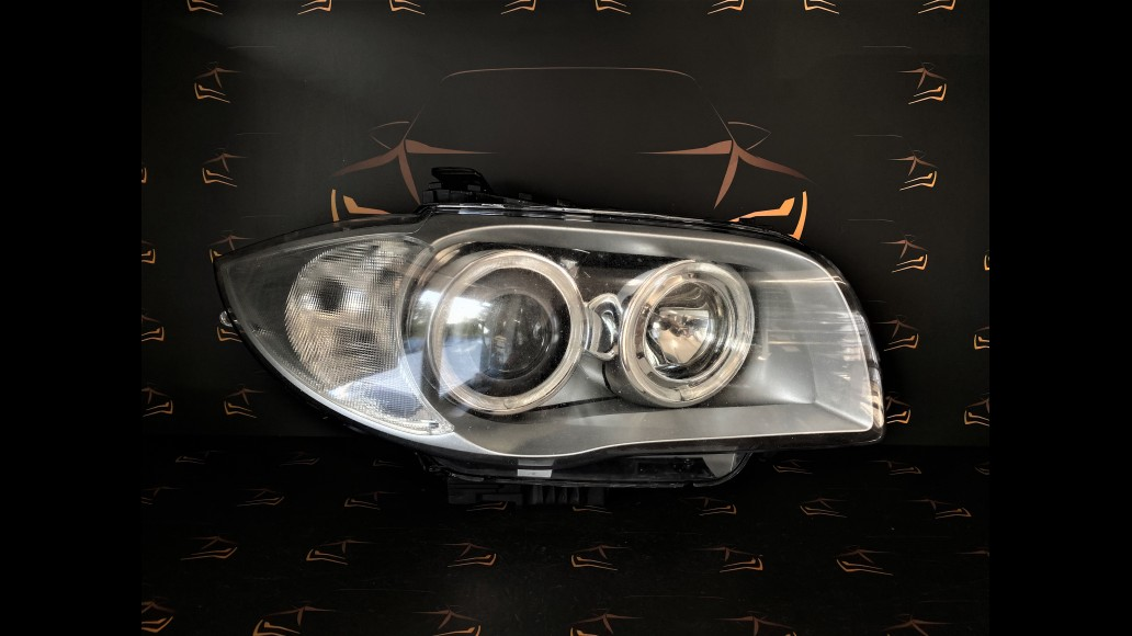 BMW 1 E87 (2004–2007) 63117180832, 63.11 7180832-03 priekšējais labais lukturis