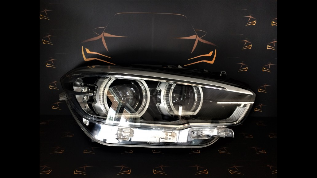 BMW 1 F20 F21 2011+ 7453524-02, 63117414145 Adaptive LED right headlight