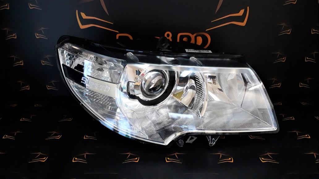 Škoda SuperB B6 3T (2008–2015) 3T1941016B right headlight