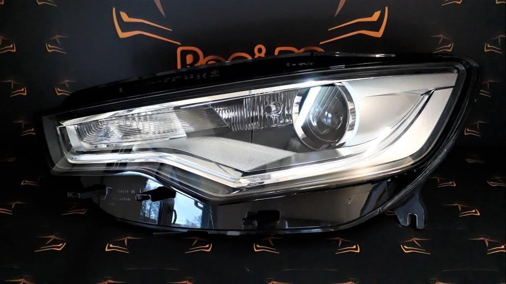 Audi A6 S6 C7 Xenon Dynamic (2012-2015) 4G0941031C priekšējais kreisais lukturis