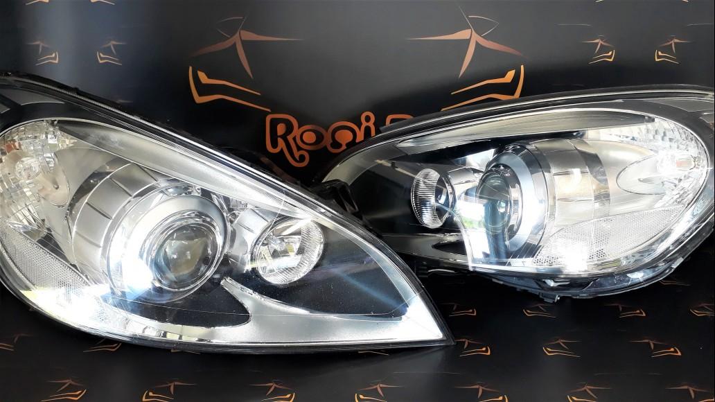Volvo S60 V60 (2010-2013) 31299991 31299990 priekšējie lukturi