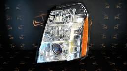 Cadillac Escalade (2007-2009) priekšējais kreisais lukturis