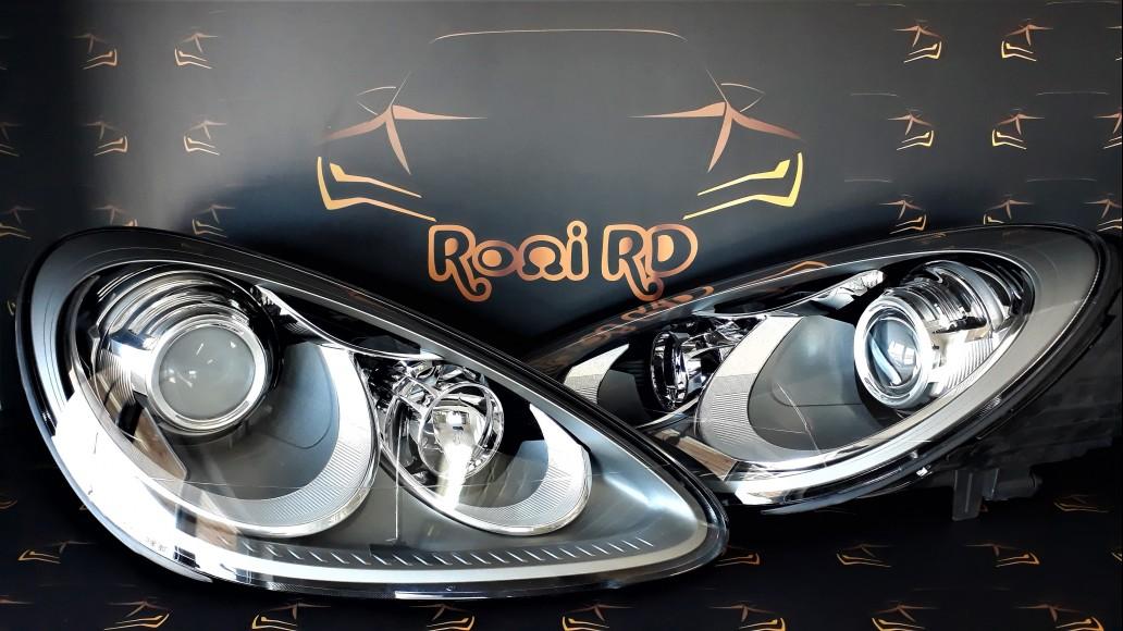 Porsche Cayenne 958 2010+ 7P5941030 AT 7P5941029 AT новые передние фары