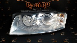 Audi A8 D3, Typ 4E (2002–2009) left headlight