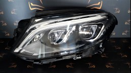 Mercedes Benz MB GLE W166 2016+ A1669067502 priekšējais kreisais lukturis