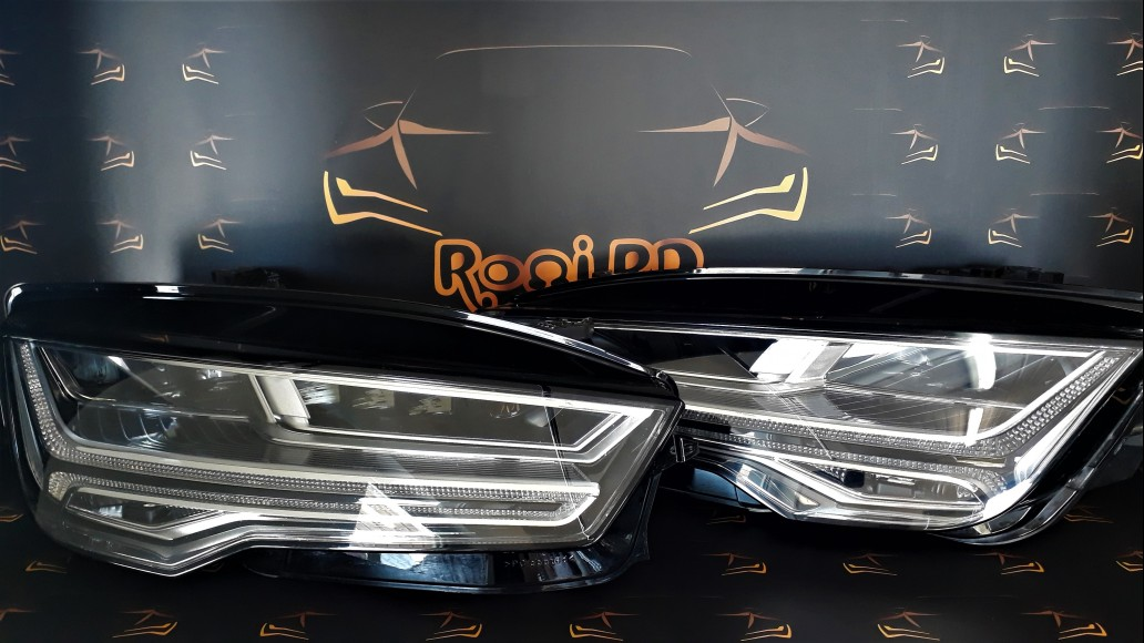 Audi A7 Matrix (2014-2017) 4G8941036 4G8941035 priekšējie lukturi