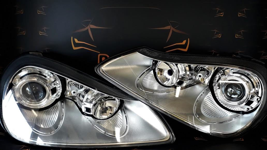 Porsche Cayenne 957 Facelift 7L5941032 G 7L5941031 H car headlights