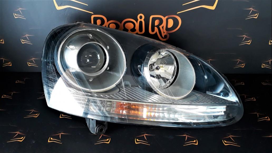 Volkswagen VW Golf 5 (2004-2008) 1K6941032 priekšējais labais lukturis
