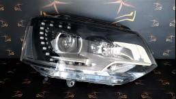 Volkswagen VW T5 Facelift 7H (2009-2014) 7E5941016 priekšējais labais lukturis