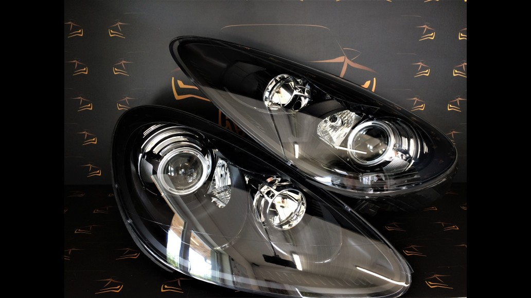 Porsche Cayenne 958 (2010-2015) 7P5941029AL, 7P5941030AL, car headlights