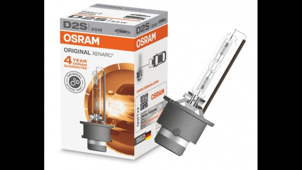 OSRAM ORIGINAL XENARC PK32d-2 D1S 35W Xenon Light Bulb (4 year warranty)
